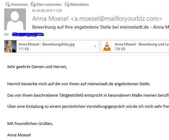 Warnung vor Virusmails