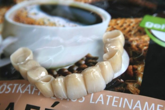 Kafferiese greift nach den Zähnen